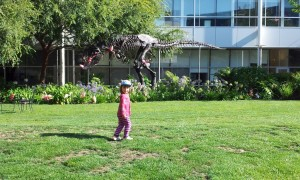 Dinosaurs at the GooglePlex