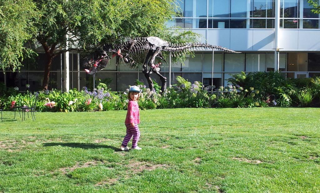 Dinosaurs at the GooglePlex