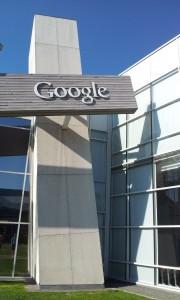 GooglePlex sign on building